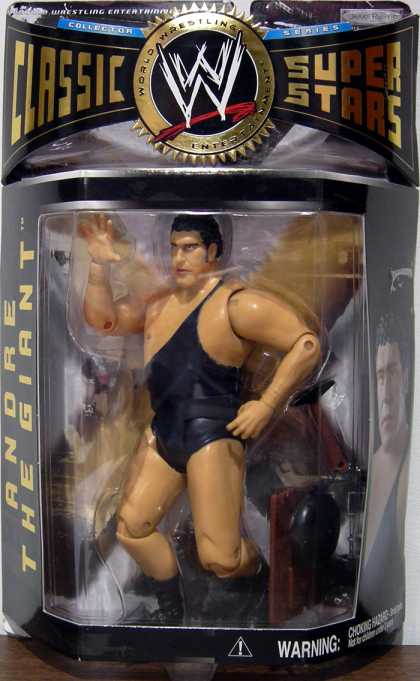 Action Figure Boxes - WWE: Andre the Giant