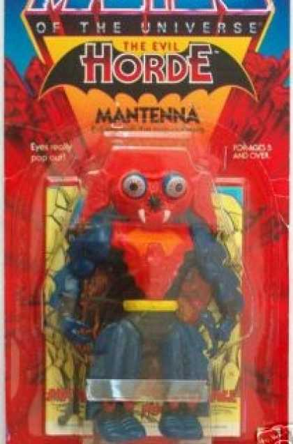 Action Figure Boxes - Masters of the Universe: Mantenna