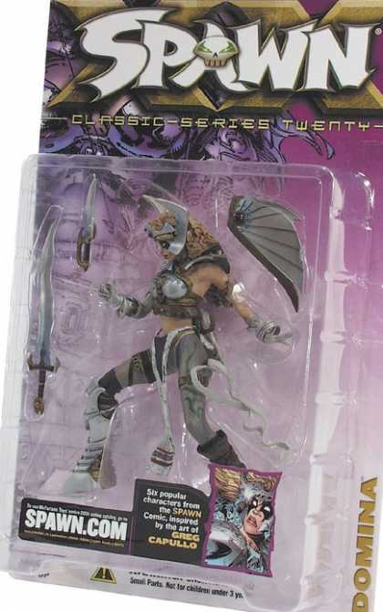 Action Figure Boxes - Spawn Domina
