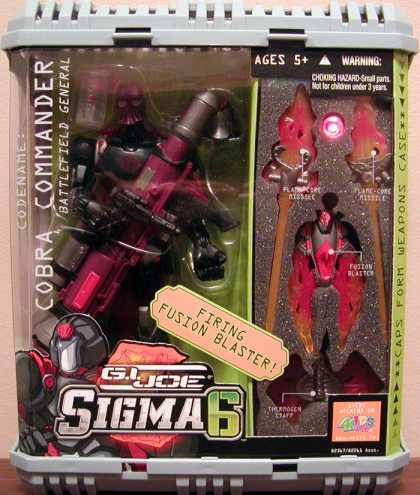 Action Figure Boxes - G.I. Joe: Sigma 6