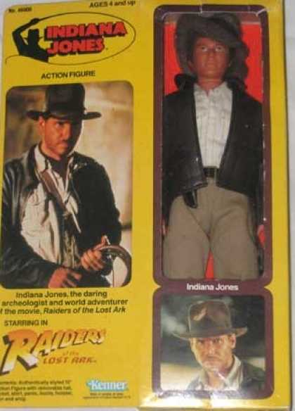 Action Figure Boxes - Indiana Jones