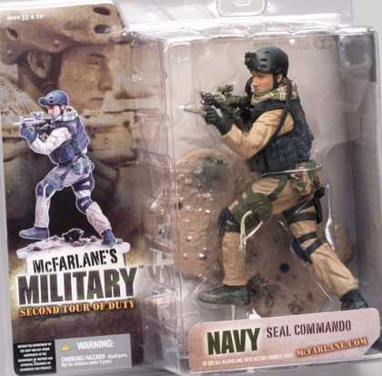 Action Figure Boxes - Navi Seal Commando Soldier