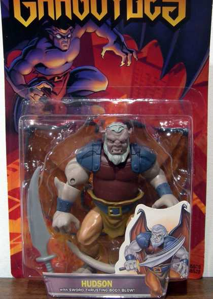 Action Figure Boxes - Gargoyles: Hudson