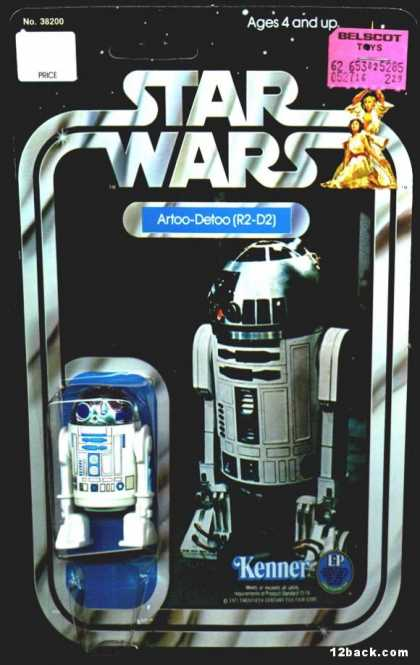 Action Figure Boxes - Star Wars - Artoo-Detoo