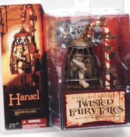 Action Figure Boxes - Twisted Fairy Tales: Hansel