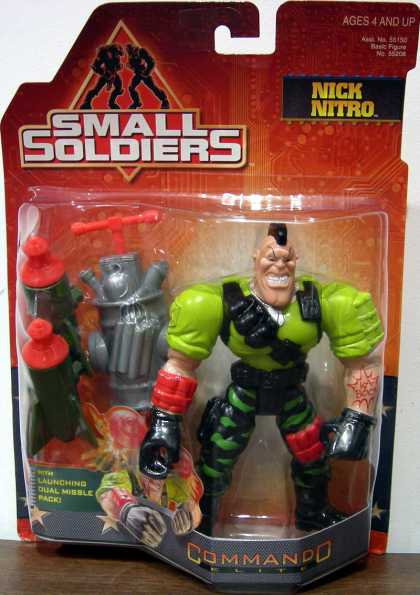 Action Figure Boxes - Small Soldiers: Nick Nitro