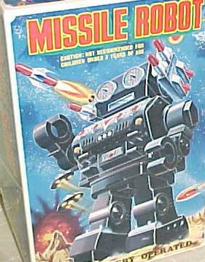 Action Figure Boxes - Missile Robot