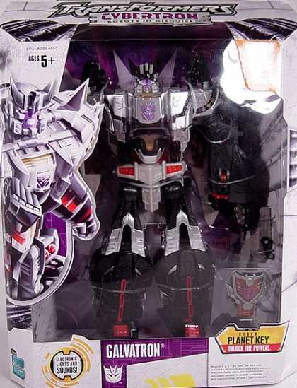 Action Figure Boxes - Transformers Galvatron