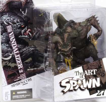 Action Figure Boxes - Art of Spawn: Vandalizer
