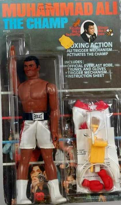 Action Figure Boxes - Muhammad Ali