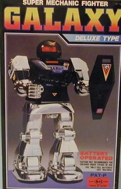 Action Figure Boxes - Super Mechanic Fighter Galaxy Deluxe Type