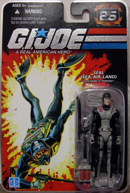 Action Figure Boxes - G.I. Joe: Seal (Sea, Air, Land)