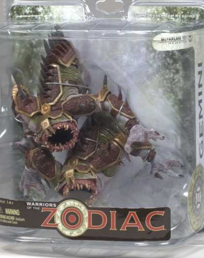 Action Figure Boxes - Warriors of the Zodiac