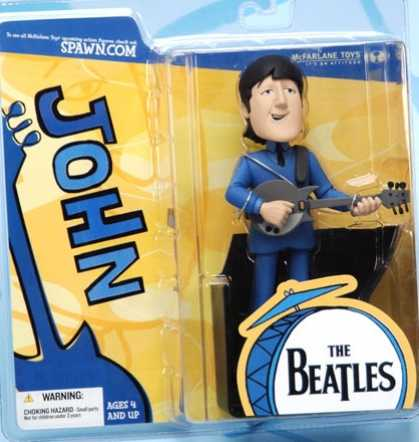 Action Figure Boxes - Beatles: John