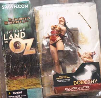 Action Figure Boxes - Twisted Land of OZ: Dorothy