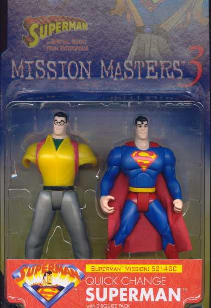 Action Figure Boxes - Quick Change Superman