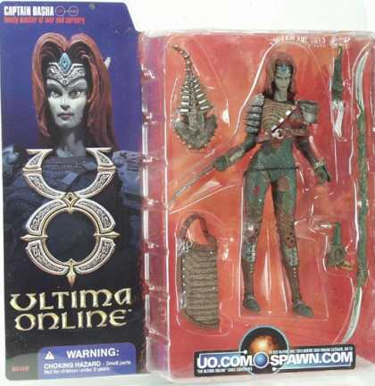 Action Figure Boxes - Ultima Online: Captain Basha