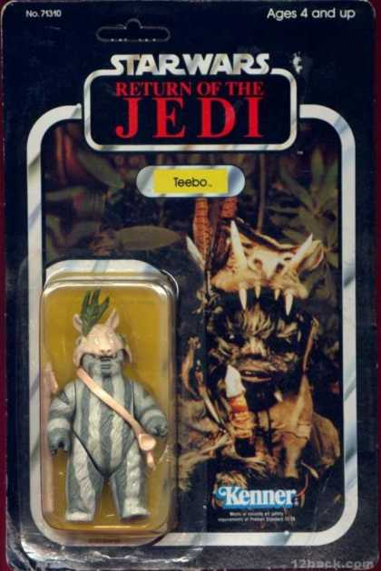 Action Figure Boxes - Star Wars: Teebo