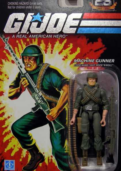 Action Figure Boxes - G.I. Joe: Machine Gunner