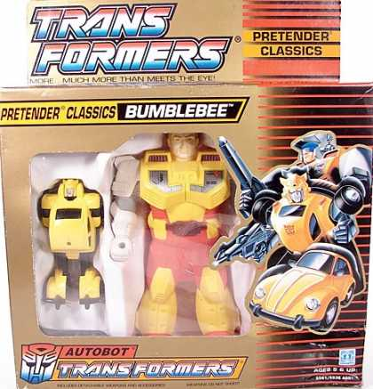 Action Figure Boxes - Transformers: Bumblebee
