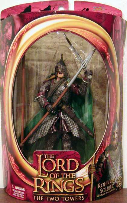 Action Figure Boxes - Lord of the Rings: The Tow Towers