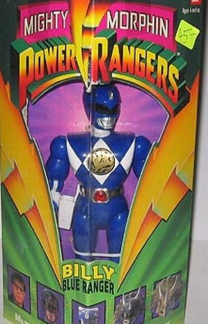 Action Figure Boxes - Power Ranger Billy