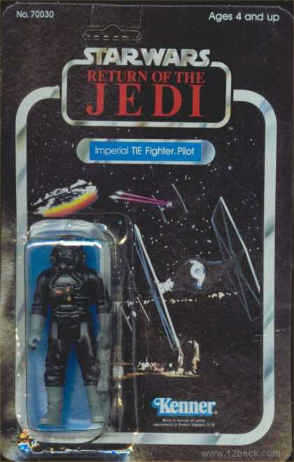 Action Figure Boxes - Star Wars: Imperial TIE Fighter Pilot