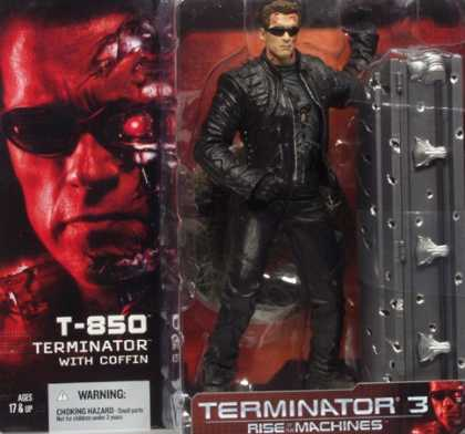 Action Figure Boxes - Terminator 3: T-850