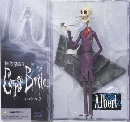 Action Figure Boxes - Tim Burton's Corpse Bride: Albert