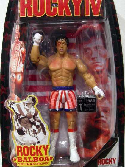Action Figure Boxes - Rocky IV: Rocky Balboa