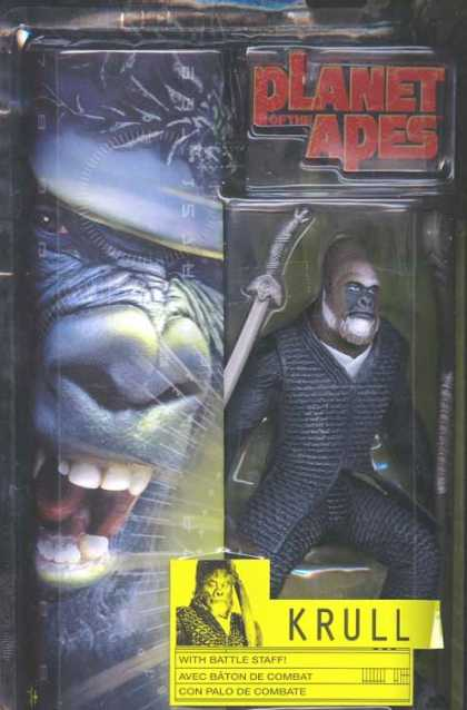 Action Figure Boxes - Planet of the Apes: Krull