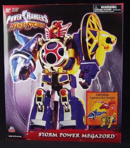 Action Figure Boxes - Power Rangers: Storm Power Megazord