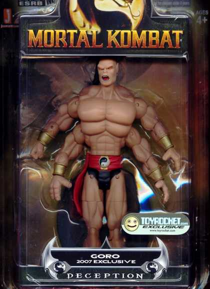 Action Figure Boxes - Mortal Kombat: Goro