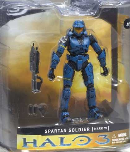 Action Figure Boxes - Halo 3 Spartan Soldier