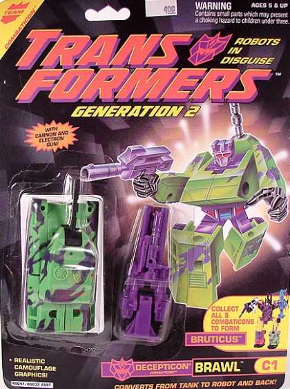 Action Figure Boxes - Transformers Brawl