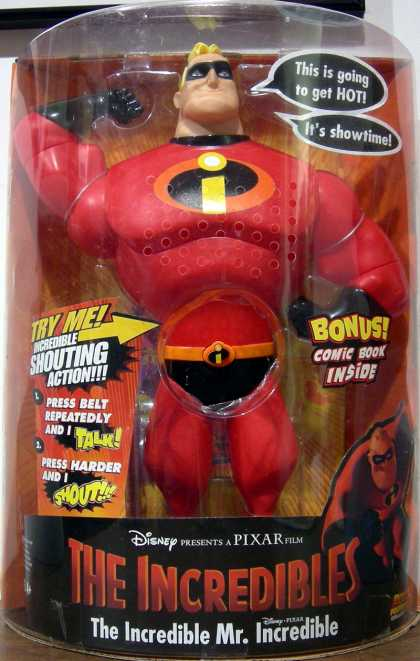 Action Figure Boxes - The Incredibles: Mr. Incredible