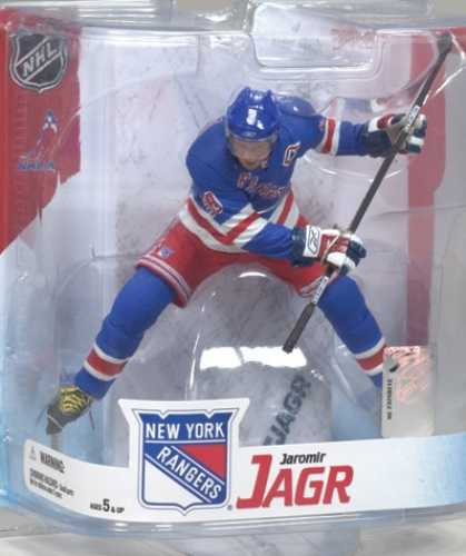 Action Figure Boxes - Ice Hockey: Jaromir Jagr