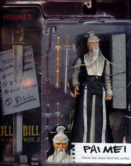 Action Figure Boxes - Kill Bill: Pai Mei