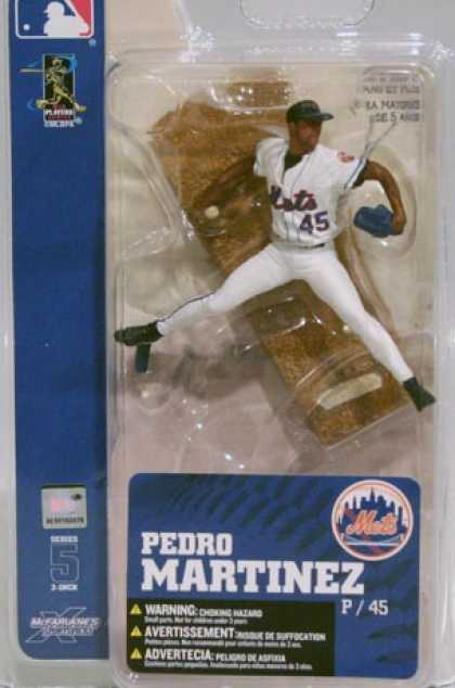 Action Figure Boxes - Baseball: Pedro Martinez
