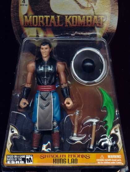 Action Figure Boxes - Mortal Kombat: Kung Lao