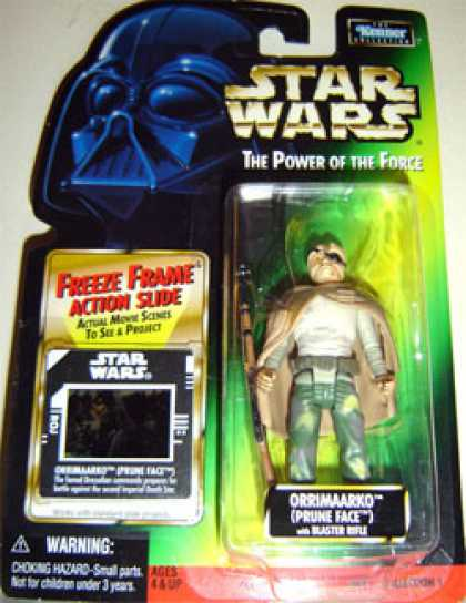 Action Figure Boxes - Star Wars: Orrimaarko