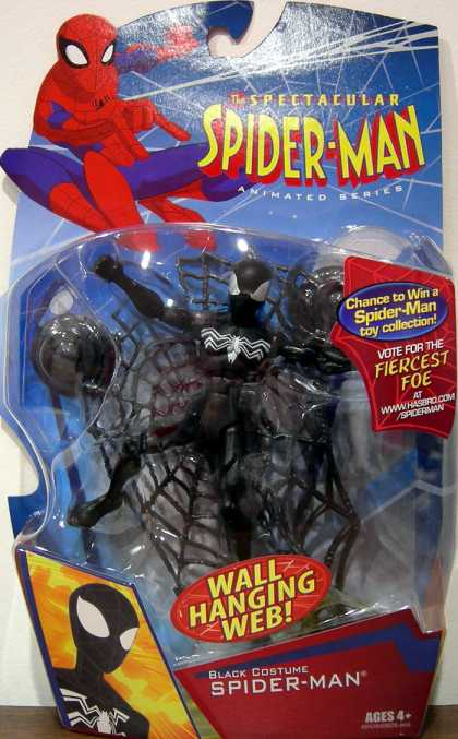 Action Figure Boxes - Black Costume Spider-Man