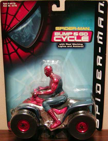 Action Figure Boxes - Spider-Man Bump and Go Cycle