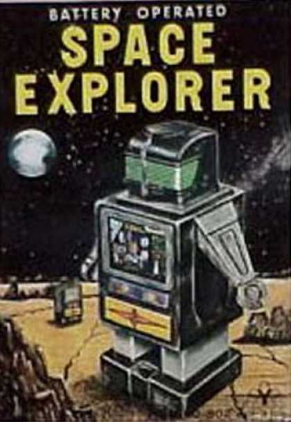Action Figure Boxes - Space Explorer