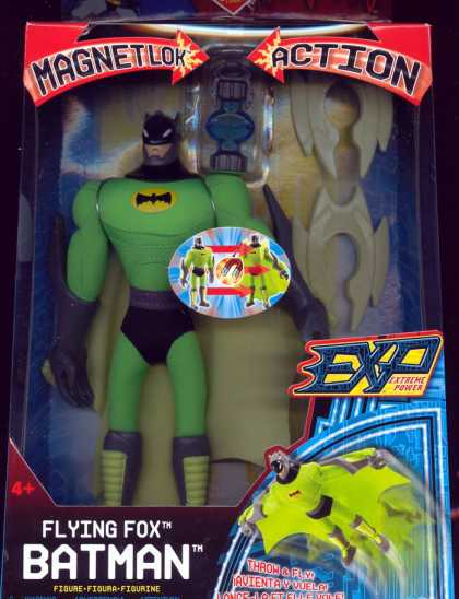 Action Figure Boxes - Flying Fox Batman