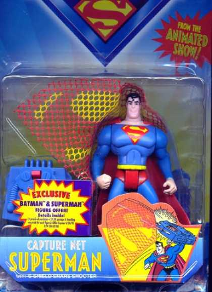 Action Figure Boxes - Capture Net Superman