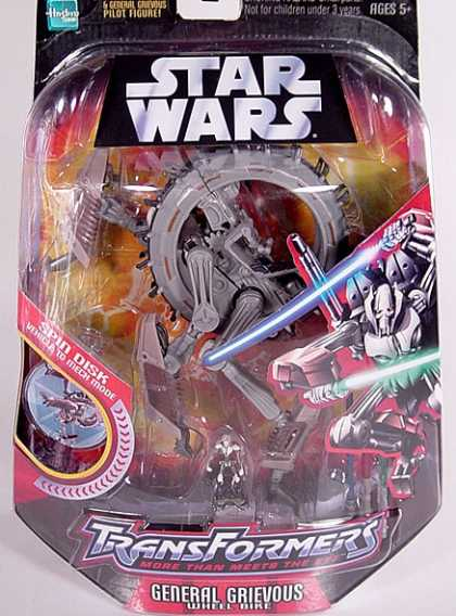 Action Figure Boxes - Transformers General Grievous