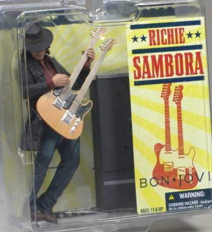 Action Figure Boxes - Bon Jovi: Richie Sambora