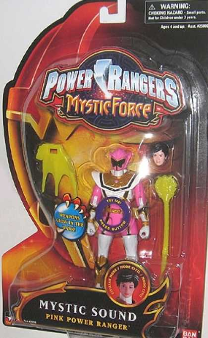 Action Figure Boxes - Power Rangers: Mystic Sound