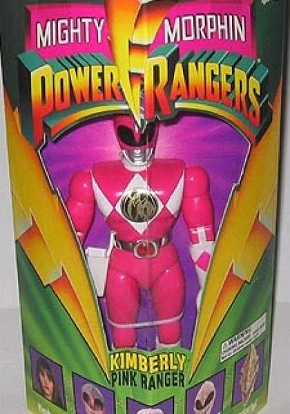 Action Figure Boxes - Power Ranger Kimberly